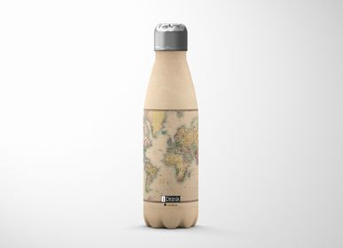 Apparel - Old Map Bottle - ID0008 - I-TOTAL