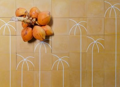 Kitchen splashback - Cement Tiles - Mirissa  - ILOT COLOMBO