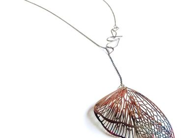"Jewelry - Asymmetric necklace ""Mamboreta_02"" - ANDREA VAGGIONE BIJOUX CONTEMPORAINS"