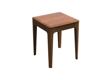 Tables de nuit - Timeless Nightstand with Wooden Tabletop - THEV