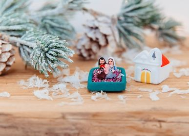 Nativity scenes and santons - Nursery micro church or fir tree (XXS) - TIENDA ESQUIPULAS