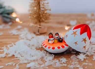 Nativity scenes and santons - Colored egg crib clay - TIENDA ESQUIPULAS