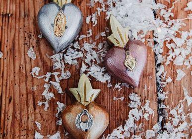 Christmas garlands and baubles - Suspension heart - TIENDA ESQUIPULAS