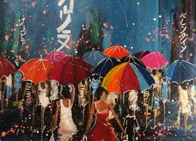 Paintings - Painting Tokyo #5 - JEAN FONTAN