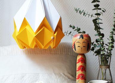 Objets design - Hanahi Blanc Neige avec Couleur - TEDZUKURI ATELIER