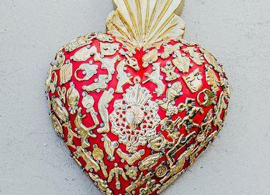 Unique pieces - Classic milagros heart - TIENDA ESQUIPULAS