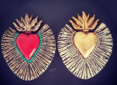 Decorative items - Ecoresponsible ex-voto heart - TIENDA ESQUIPULAS