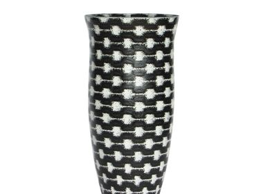 Bol - B&W Resonance Flower Vase MED - SYNCHROPAINT