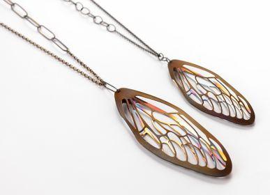 "Jewelry -  Necklace ""CICADA_05"" - ANDREA VAGGIONE BIJOUX CONTEMPORAINS"