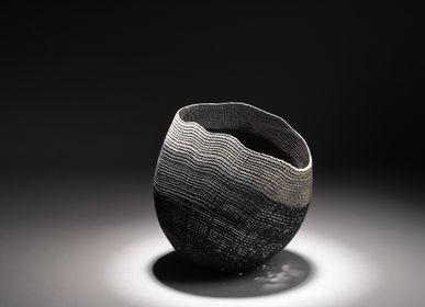 Objets de décoration - Grand bol noir/gris - PASCAL OUDET