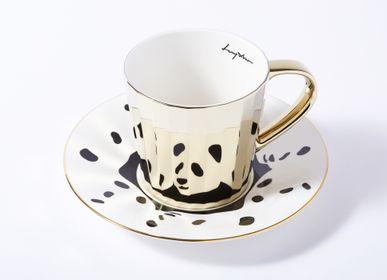 Céramique - LUYCHO tasse haute & panda dalmatien - LUYCHO