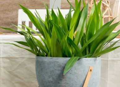 Vases - Paper Clay Vase (Grey Single) - INDIGENOUS