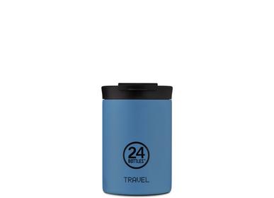 Accessoire de voyage / valise - Powder Blue Travel Tumbler - 24BOTTLES