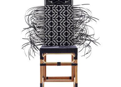 Chairs - Rojjarnar  (Corner black pattern, Black seat, Black head) - KITT.TA.KHON
