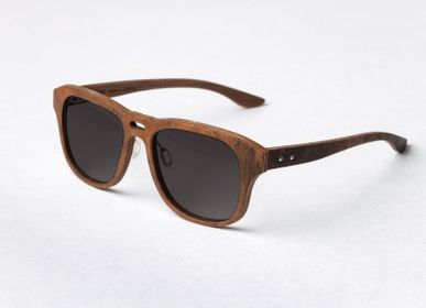 Glasses - Wooden sunglasses Basic Collection - BREVNO