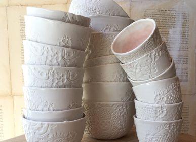 """Bowls - Espresso, cup and bowl """"Albertine"""" - MYRIAM AIT AMAR"""