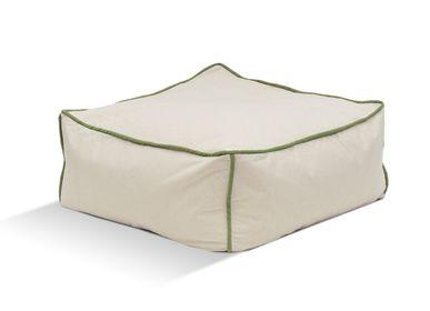 Outdoor fabrics - BEAN BAG FUNKY STOOL - POUFOMANIA