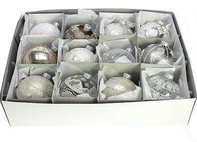 Guirlandes et boules de Noël - Verre boule de Noël - MEANDER