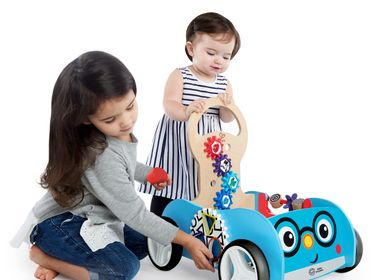 Toys - Wooden Toy: Activity Trolley - HAPE