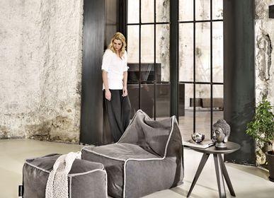 Outdoor fabrics - BEAN BAG FUNKY MIDDLE - POUFOMANIA