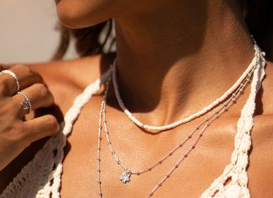 Jewelry -  Collier Maldives White - FILAO BIJOUX