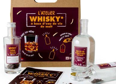 Wine - Whisky manufacturing kit based on organic malt brandy - RADIS ET CAPUCINE