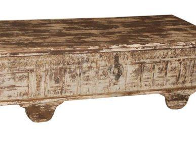Boîtes de rangement  - Table-coffre de rangement - HINDUSTAN HOUSE