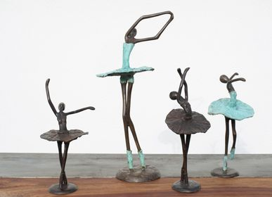 Sculptures, statuettes and miniatures - Bronze Sculpture Balerine  - MOOGOO CREATIVE AFRICA