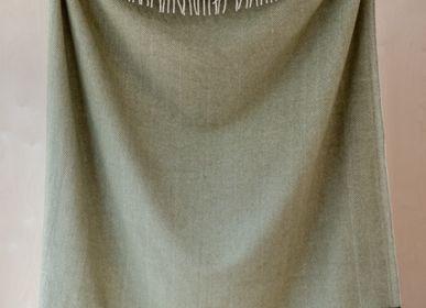 Plaids - Couverture en laine recyclée en chevrons - THE TARTAN BLANKET CO.