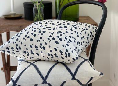 Fabric cushions - Linen Cushions - Tiger Dot - CHHATWAL & JONSSON