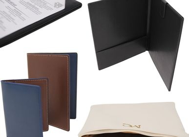 Homewear - Small tailor-made leather goods - MON CINTRE