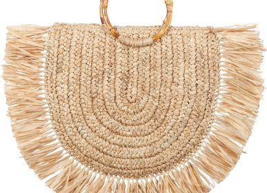 Bags and totes - Bamboo Bag Ibiza Froufrou - BEAU COMME UN LUNDI