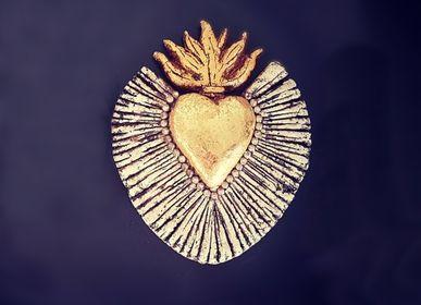 Mirrors - Eco-responsible Gold Heart - TIENDA ESQUIPULAS