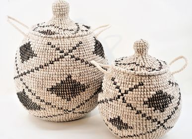 Decorative objects - Organic Cotton and Straw - EA DÉCO NATUREL & DESIGN
