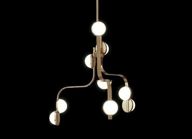 Hanging lights - Script Chandelier - J. & L. LOBMEYR