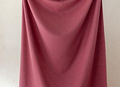 Plaids - Couverture en laine d'agneau rose - THE TARTAN BLANKET CO.