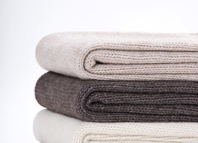 Throw blankets - JERSEY COLLECTION - FRATI HOME COLLECTION