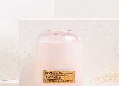 Candles - La Vie en Rose M - AIMEZ-VOUS LES UNS LES AUTRES