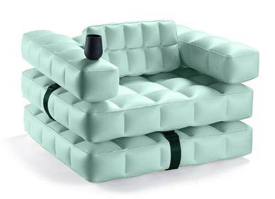 Fauteuils - Modul'Air Fauteuil gonflable 3 en 1 de qualité supérieure, flotteur de piscine/lit de bronzage - PIGRO FELICE