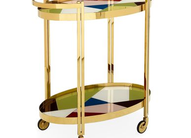 Chariot - Fauteuil Ether - Ice - JONATHAN ADLER