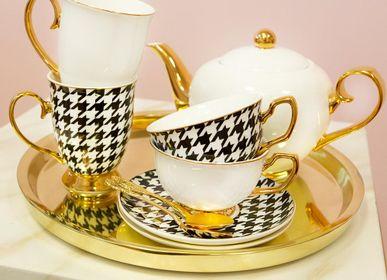Accessoires thé / café - Tasse Pied de Poule - CRISTINA RE