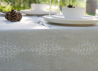 Table linen - RESEDA TABLECLOTH - CHARVET EDITIONS