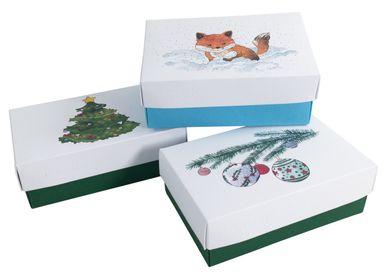 Christmas decoration - Buntbox Christmas Boxes - BUNTBOX