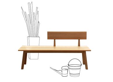 Benches - tiera collection - DEESAWAT