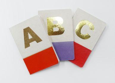 Cadeaux - Monogram Pocket Notebook - NATIONAL HANDICRAFT EXPORTS