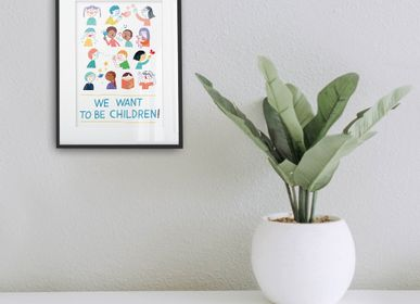 Poster - Art Prints - Kids Collection #1 - ILLUSTATION.IT