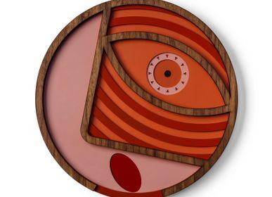 Décoration murale - Round mask #2 - UMASQU