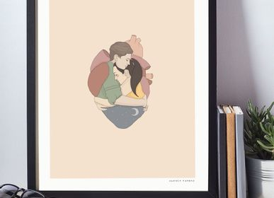 Poster - Art Prints - Love Collection #2 - ILLUSTATION.IT