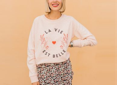 Ready-to-wear - LA VIE EST BELLE sweatshirt - WAY CUSTOM