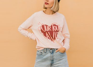Ready-to-wear - Sweatshirt POUR TOUTE LA VIE - WAY CUSTOM